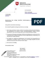 2021_05_10_Brixen_Beantwortung Ihrer Anfrage betreffend Verkehrsregelung Stadtzentrum _ Höhe Tourismusverein