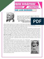 Biografía de Jorge Luis Borges Para Cuarto de Secundaria