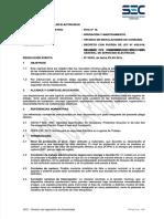 Pliego Tecnico Normativo Rticn16 Operacion y Mantenimiento