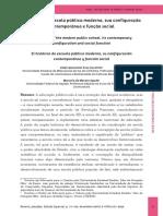 LIDO - O histórico da escola pública moderna, sua configuração contemporânea e função social