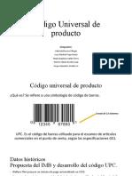 Código Universal de Producto