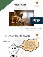 CONTROL DE PLAZO