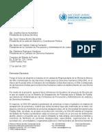 Carta Congreso Puebla - Ley Desapariciones
