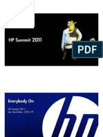 HP CEO Leo Apotheker Keynote - HP Summit 2011