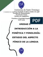 Fonética y a La Fonología Historia, Noción, Objeto y Perspectiva de Estudio, Ramas, Relación, Diferencia y Aplicaciones