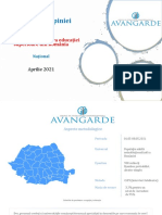 Barometrul Opiniei Publice in Educatie - Avangarde