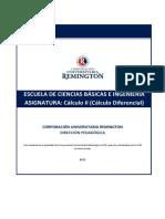 Modulo Matemáticas 2 (Calculo diferencial)