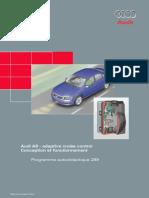 SSP 289 Audi A8 - adaptive cruise control