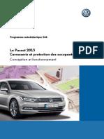 SSP 544 La Passat 2015 Carrosserie et protection des occupants
