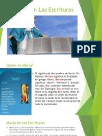 Maria en La Escritura