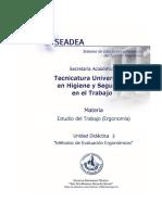 UD3- Métodos de Evaluación Ergonómicos