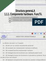 SUPORT-CLS09-TIC-CAP01-L01-01-Functiile componentelor hardware. Schema celor cinci