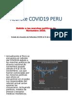 Rebrote COVID19 PERU - 31 de marzo 2021