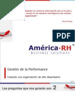 América RH. Gestión Estratégica de La Performance