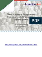 Clima Cultura Compromiso 3 aliados de la empresa y su gente