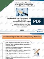 3.Impuesto Utilidades- webinarios  2020 (1)