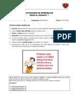 A. de Aprendizaje N° 7_Matemática_Kínder_validada