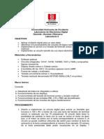 Laboratorio 2 Electrónica Digital 2021-1