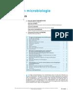Analyses en Microbiologie - Antibactériens