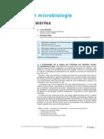 p3352 Analyses en Microbiologie - Produits Non Stériles