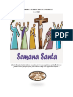 Celebrer La Semaine Sainte en Famille