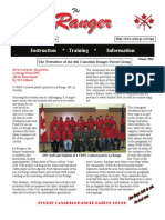 The Ranger Newsletter Jan 2011
