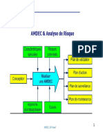 AMDEC and Analyse de Risque AMDEC and An