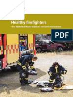 Healthy Firefighters the Skelleftea Model Improves the Work Environment