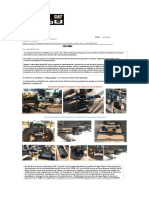 Informe Arreglo de Transmision JD 5520