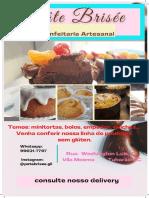 Flayer - Pâte Brisée Confeitaria Artesanal 2