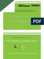 Lineamientos Curriculares de Educación Sexual Integral (ESI) de nivel nacional.