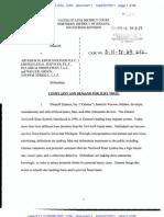 Zimmer v Kresch Trademark Complaint PDF