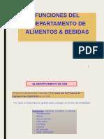 FUNCIONES DEL DEPTO DE A y B