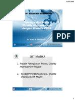 8. Peningkatan Mutu dengan Metode PDSA