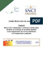 AFPS Guide Technique 2014 Reservoire de Stockage Partie B