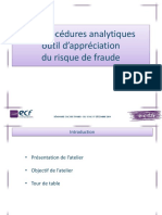 Fraude procédure analytique