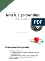 45108593-TEMA 8 EL PSICOANÁLISIS