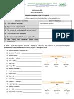 Processos Fonológicos II