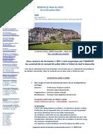Programme Deauville 2021 DPC