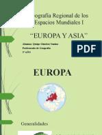 Trabajo Final de Geografía Regional de los