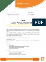 Aprenda sobre PABA