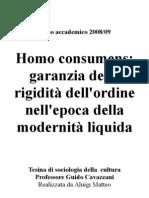 Tesina Di Soc. Della Cultura
