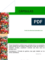 Cápsulas - Farmacotécnica