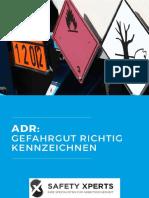 ADR-Gefahrgut richtig kennzeichnen-Safety Experts