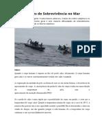 Noções de Sobrevivência no Mar