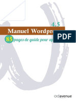 Manuel wordpress 4.5