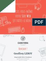 Faites-Vous Même Votre Site Web (Et Faites-le Bien)