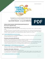 Bando Audizioni FVG 2021