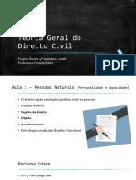 Teoria Geral do Direito Civil