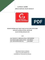 Laporan PkM Pelayanan KIA-KB Dan Pengobatan Gratis Di Soe